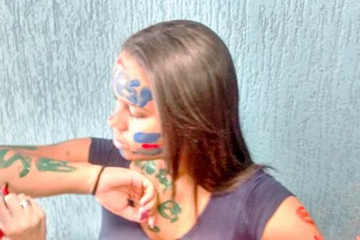 TAINA CAROLINA J. FERNANDES, aluna do 3ºano do Ensino Médio aprovada