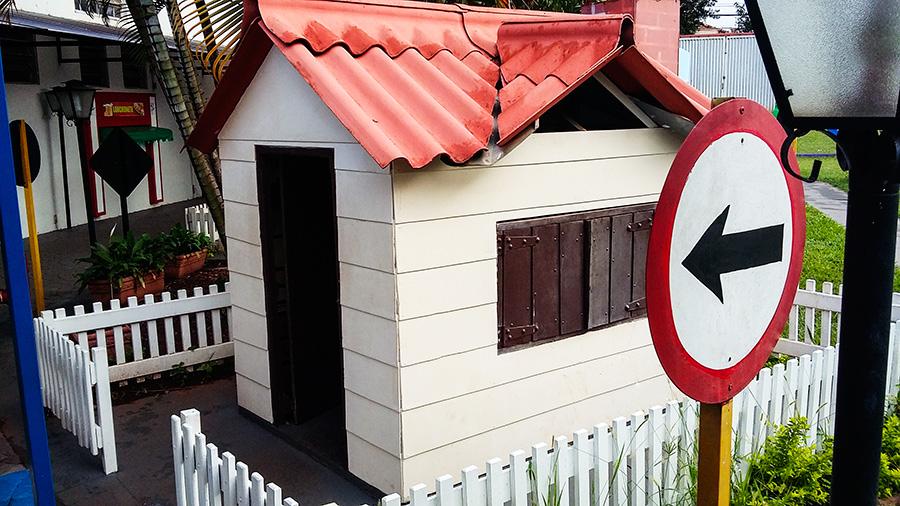 Juniorlândia a mini-cidade do Objetivo Júnior