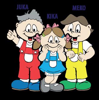 Personagens da Família Júnior