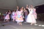 Danças típicas de festa junina no Arraiá do BIJU