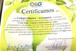Certificado Olimpíada de Química Ribeirão Preto
